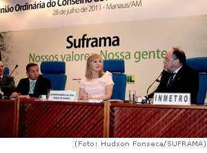 SUFRAMA assina termo de cooperação para Selo Amazônico com o INMETRO