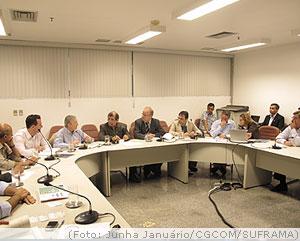 SUFRAMA promove palestra sobre o modelo Zona Franca de Manaus a executivos de grupo ligado ao Banco Mundial