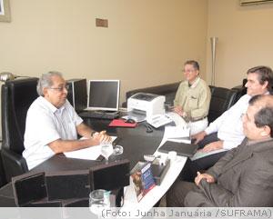 Superintendente da Suframa inicia visitas de cortesia