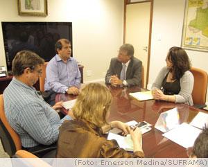 Ministério discute encaminhamentos da OTCA com a SUFRAMA